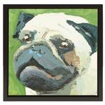 View Image 1 of Pug Oil Painting