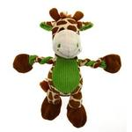 View Image 1 of Pulleez Groovy Giraffe Dog Toy
