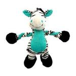 View Image 1 of Pulleez Zany Zebra Dog Toy