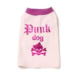 View Image 2 of Punk Dog T-Shirt - Pink