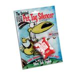 View Image 1 of Quiet Spot Pet Tag Silencer - Red Hawaiian