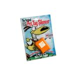 View Image 1 of Quiet Spot Pet Tag Silencer - Safety Orange