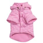 View Image 2 of Quilted Pastel Dog Jacket - Pink