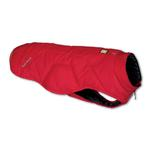 View Image 1 of Quinzee Insulated Dog Jacket by RuffWear - Red Rock