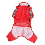View Image 3 of Race Track Rainsuit by Puppia - Red