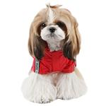 View Image 2 of Race Track Rainsuit by Puppia - Red