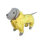 View Image 1 of Rainforest Lemon Dog Rainsuit