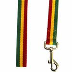 View Image 2 of Rasta Stripe Dog Leash