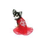 Red Ballerina Dress by Hip Doggie
