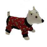 View Image 2 of Red Le Chien Dog Pajamas