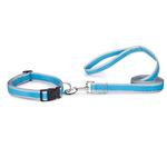 View Image 2 of Reflective Neoprene Dog Leash - Bluebird