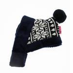 View Image 2 of Reindeer Dog Hat by Pinkaholic - Navy