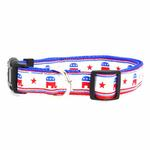 View Image 1 of Republican Party Nylon Dog Collar