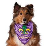 View Image 1 of Rubie's Mardi Gras Dog Bandana