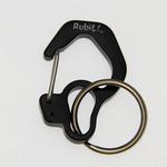 Rubit Dog Tag Clip - Black Curve