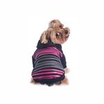View Image 2 of Safari Dog Hoodie - Pink & Black