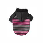 Safari Dog Hoodie - Pink & Black