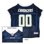 View Image 1 of San Diego Chargers Officially Licensed Dog Jersey