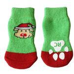 View Image 1 of Santa Pooch PAWKS Dog Socks