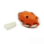 View Image 3 of Seamsters Rubber/Rawhide Football Toys