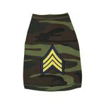 View Image 1 of Sergeant Doggy Tank Top - Camo