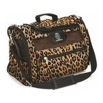 View Image 2 of Sherpa Leopard Print Cat Tote