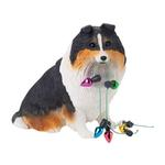 View Image 1 of Shetland Sheepdog Christmas Ornament - Tri