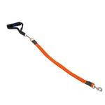 View Image 1 of EZ Steps Shock Absorbing Big Dog Leash - Orange
