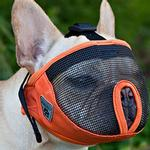View Image 2 of Short Snout Dog Muzzle by Canine Friendly - Gray