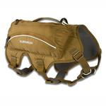 View Image 3 of Singletrak Hydration Dog Pack by RuffWear - Dry River Brown
