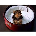 View Image 1 of Sleepypod Mobile Pet Bed Ultra Plush Bedding - White