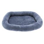 View Image 1 of Slumber Pet Comfy Crate Dog Bed - Blue