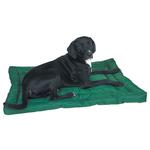 Slumber Pet Water-Resistant Dog Bed - Green