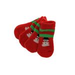 View Image 1 of Snowman Soxy Paws Dog Socks