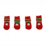 View Image 2 of Snowman Soxy Paws Dog Socks
