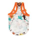 View Image 3 of Soft Spice Dog Tank by Puppia - Orange