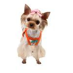 View Image 2 of Soft Spice Dog Tank by Puppia - Orange