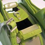 View Image 3 of SoHo Collection Pet Carrier - Lime Green