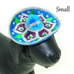 View Image 2 of Sombrero Dog Hat - Turquoise