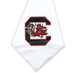 View Image 1 of South Carolina Gamecocks Dog Bandana - White