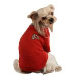 View Image 1 of Spice Dog Sweater by Puppia - Red