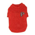 View Image 3 of Spice Dog Sweater by Puppia - Red