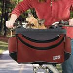 View Image 2 of Sporty Pet Bicycle Basket - Red