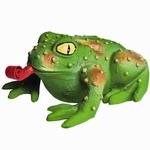 View Image 1 of Squeeze Meeze Frog Dog Toy