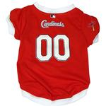 View Image 1 of St. Louis Cardinals Baseball Dog Jersey