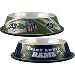 View Image 1 of St. Louis Rams Dog Bowl