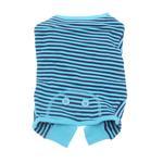 View Image 1 of Striped Dog Pajamas - Blue