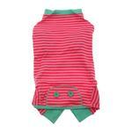 View Image 1 of Striped Dog Pajamas - Pink