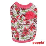 View Image 2 of Sultry Dog Shirt by Puppia - Dark Pink