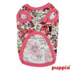 View Image 3 of Sultry Dog Shirt by Puppia - Dark Pink